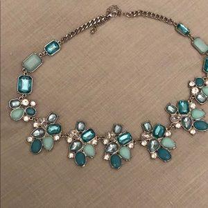 Jewelry - Charming Charlie Teal & aqua show piece necklace🔥